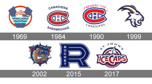 Laval Rocket Logo history