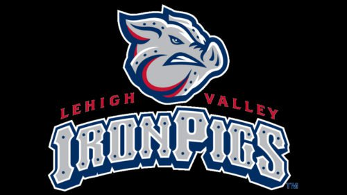 Lehigh Valley IronPigs baseball logo