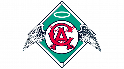 Los Angeles Angels of Anaheim Logo 1965