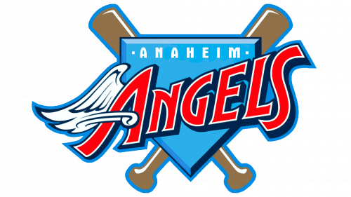 Los Angeles Angels of Anaheim Logo 1997