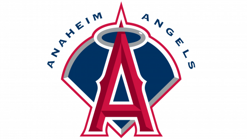 Los Angeles Angels of Anaheim Logo 2002