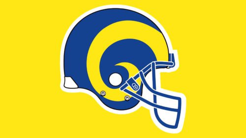 Los Angeles Rams Helmet Emblem