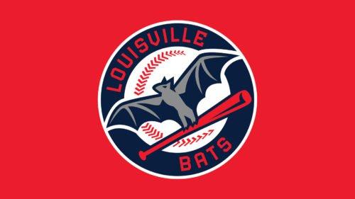 Louisville Bats baseball logo