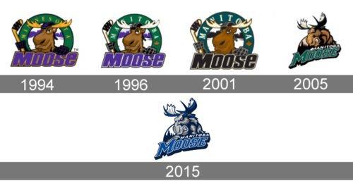 Manitoba Moose Logo history