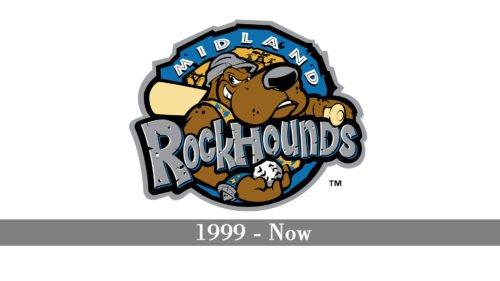 Midland RockHounds Logo history