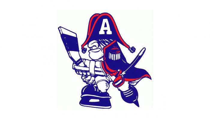Milwaukee Admirals Logo 1982
