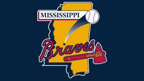 Mississippi Braves Emblem