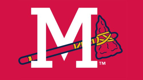 Mississippi Braves Logo baseball