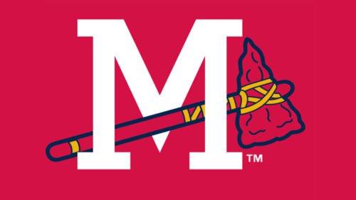 Mississippi Braves Logo baseball