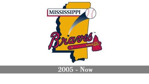 Mississippi Braves Logo history