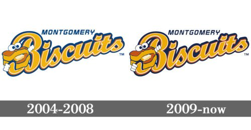 Montgomery Biscuits Logo history