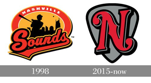 Nashville Sounds Logo history