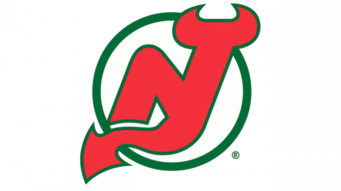 New Jersey Devils Logo 1986