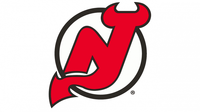 New Jersey Devils Logo 1992