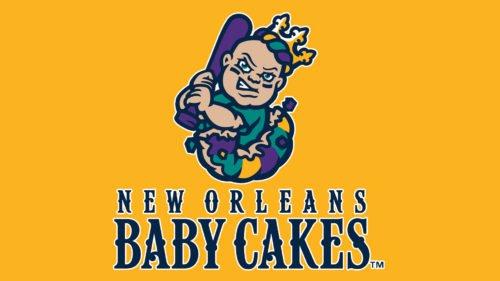 New Orleans Baby Cakes baseball logo