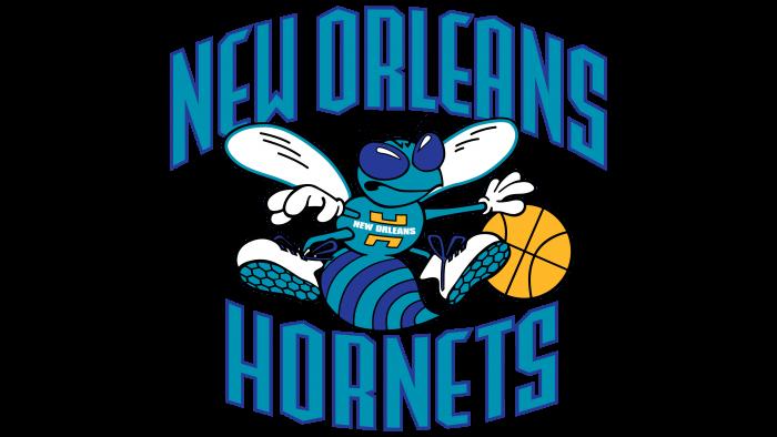 New Orleans Hornets Logo 2002