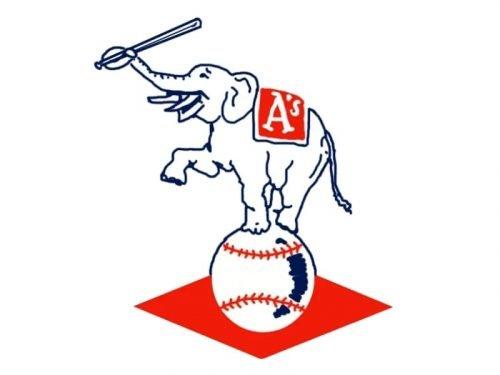 Oakland Athletics Logo 1954