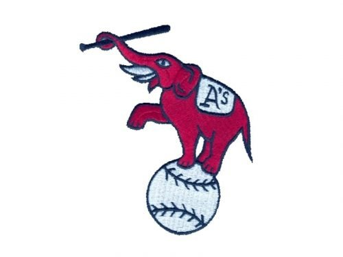 Oakland Athletics Logo 1955