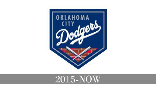 Oklahoma City Dodgers Logo history