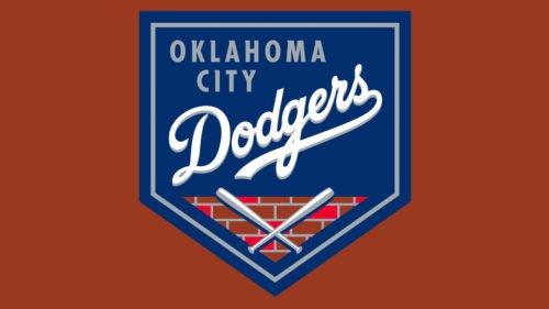 Oklahoma City Dodgers baseball logo