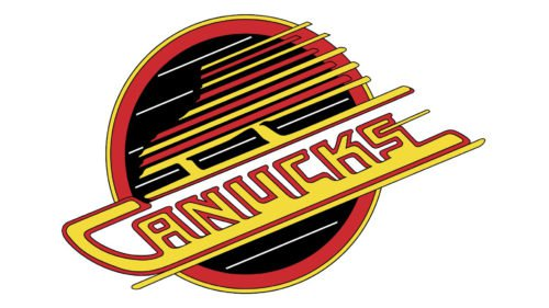 Old logo Vancouver Canucks