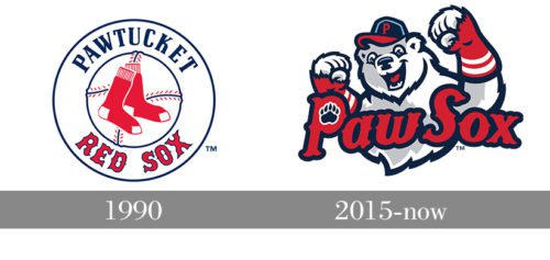 Pawtucket Red Sox Logo history