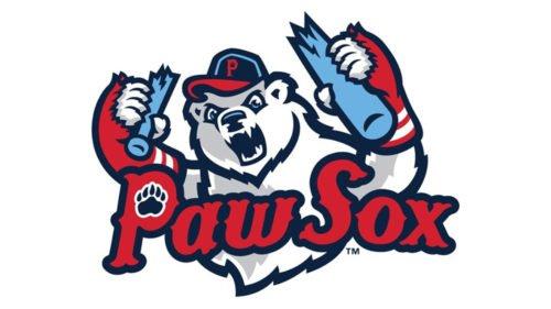 Pawtucket Red Sox baseball logo