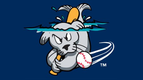 Portland Sea Dogs Logo baseball
