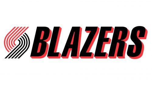 Portland Trail Blazers Logo 1990