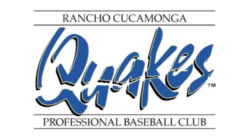 Rancho Cucamonga Quakes Logo baseball