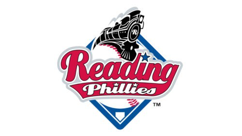 Reading Fightin Phils Logo baseball