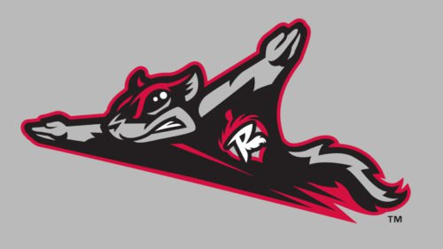 Richmond Flying Squirrels Logo baseball