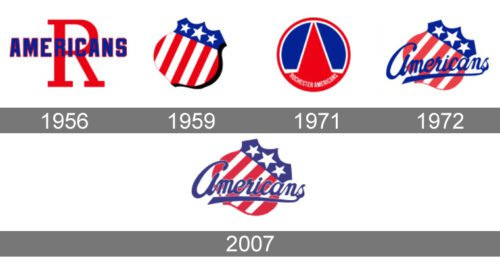 Rochester Americans Logo history