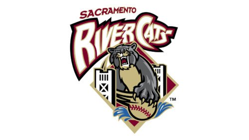 Sacramento River Cats Logo old
