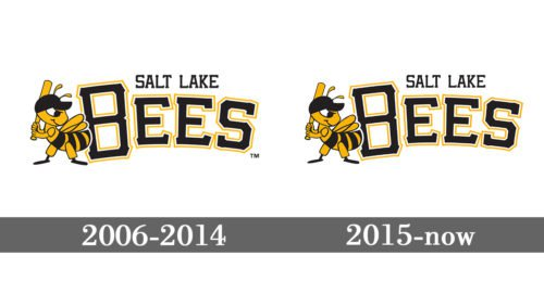 Salt Lake Bees Logo history