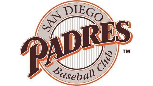 San Diego Padres Logo 1990