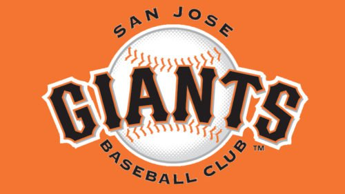 San Jose Giants Logo baseball