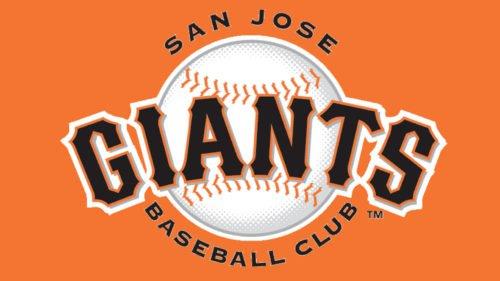 San Jose Giants Logo baseball