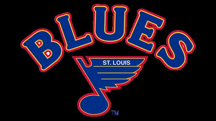 St Louis Blues Logo 1984