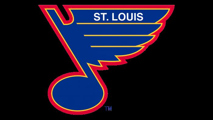 St Louis Blues Logo 1987