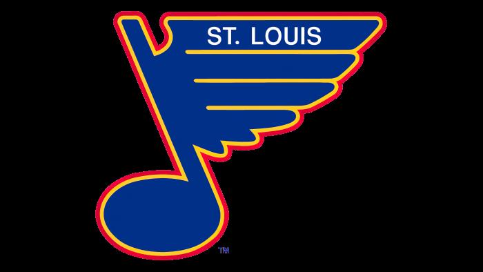 St Louis Blues Logo 1989