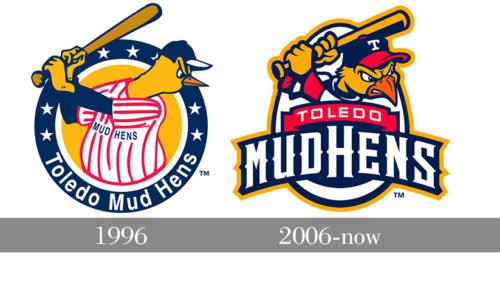 Toledo Mud Hens Logo history