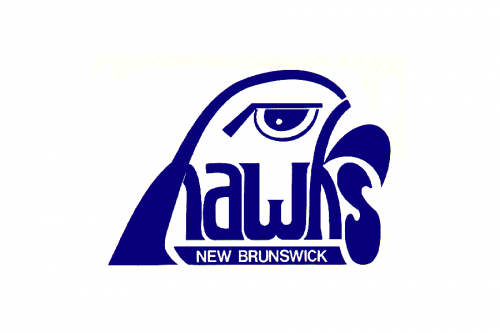 New Brunswick Hawks Logo 1978