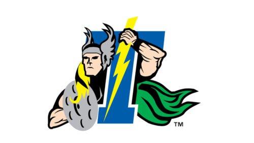 Trenton Thunder Logo baseball