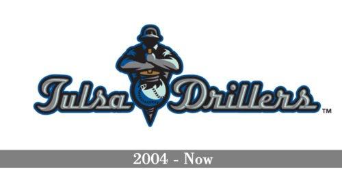 Tulsa Drillers Logo history