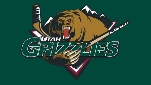Utah Grizzlies hockey Logo