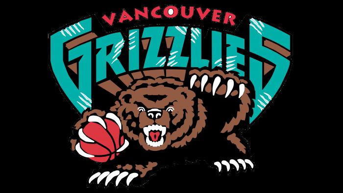 Vancouver Grizzlies Logo 1995