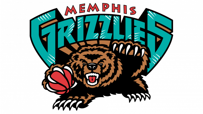 Vancouver Grizzlies Logo 2001