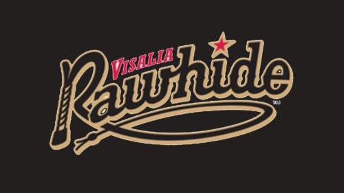 Visalia Rawhide Logo baseball