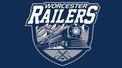 Worcester Railers HC hockey Logo